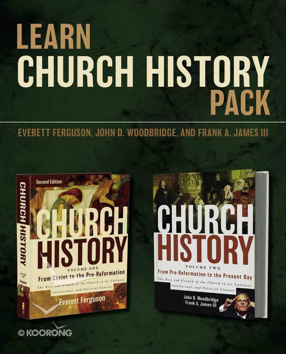 Learn Church History Pack Hardback