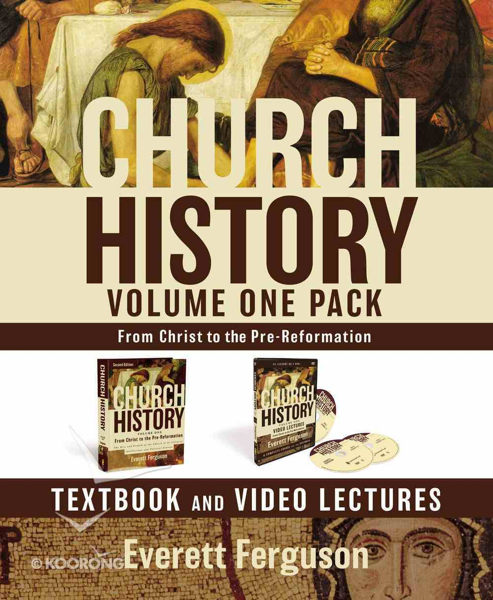 Church History Volume One Text Book and DVD Lectures Pack Pack