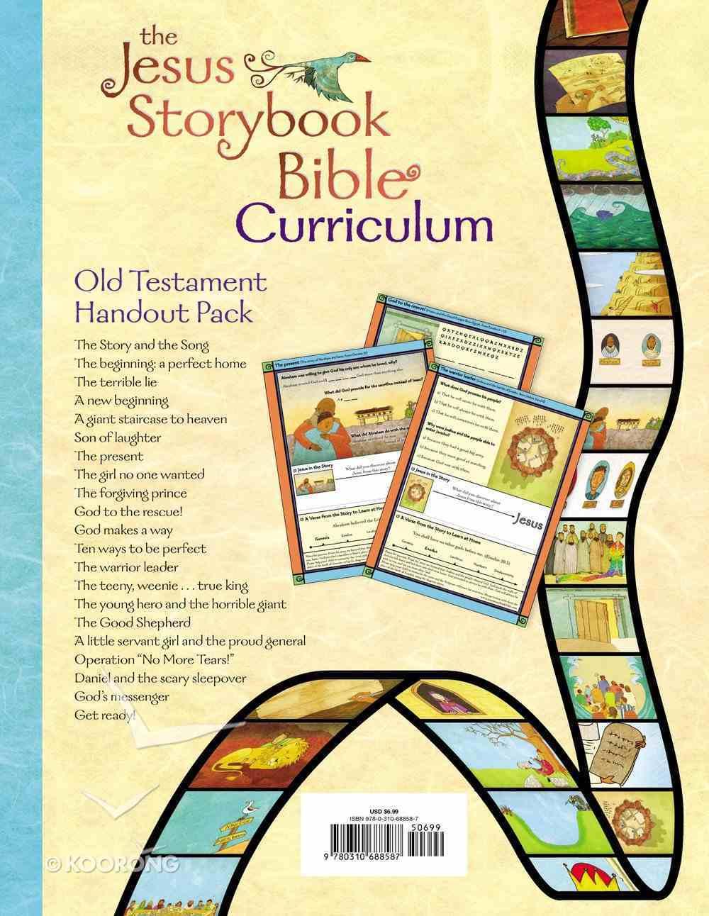 Jesus Storybook Bible Old Testament (Curriculum Kit Handouts) Pack