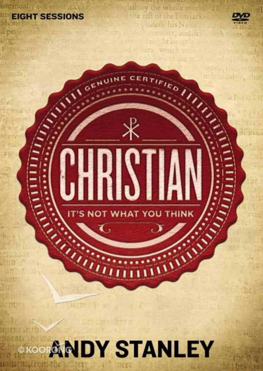 Christian: It's Not What You Think DVD