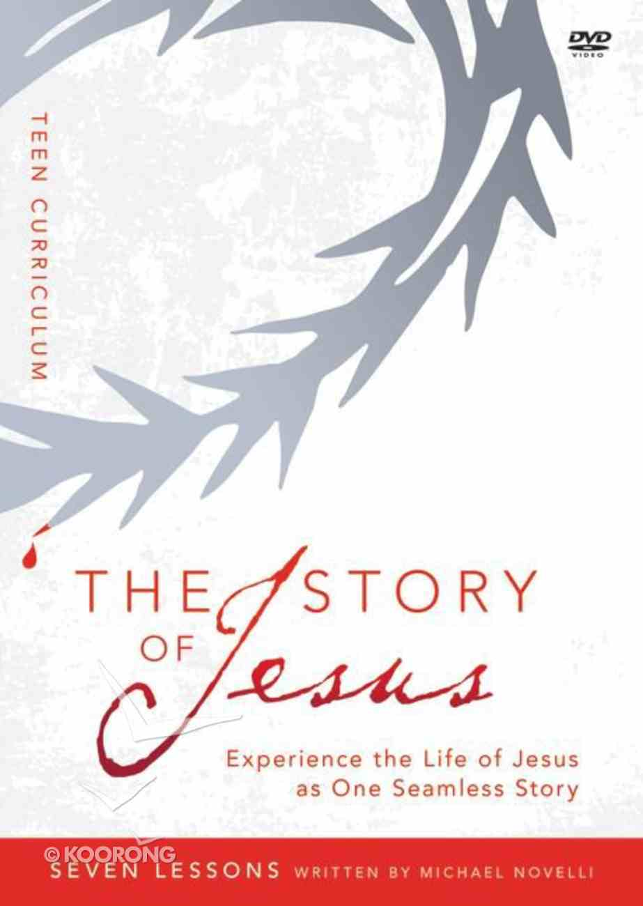 The Story of Jesus For Teens Curriculum (Dvd-Rom) (The Story Of Jesus Series) Dvd-rom