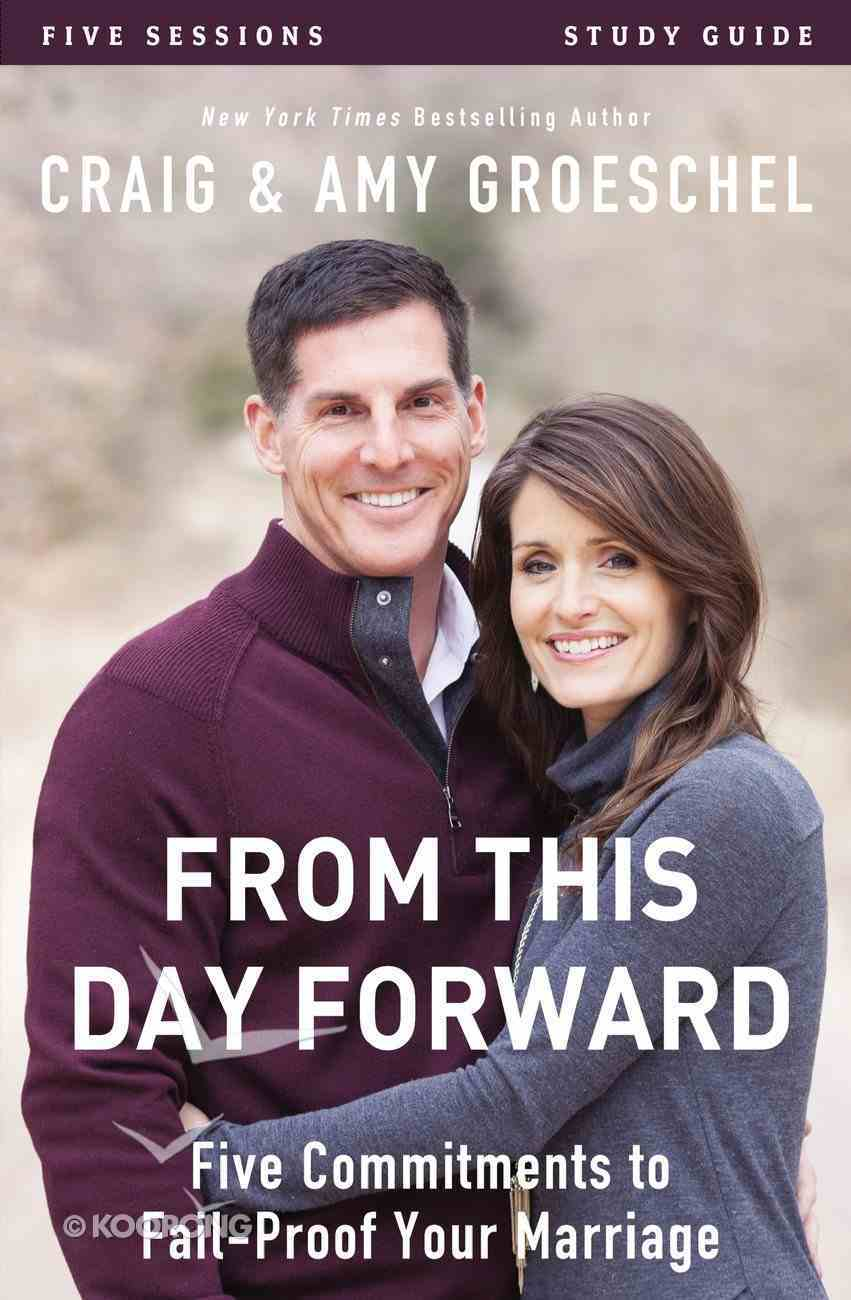 From This Day Forward (Study Guide) Paperback