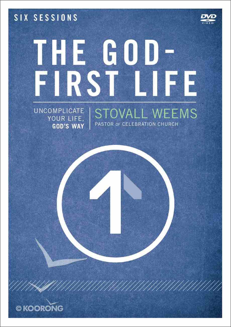 The God-First Life (A Dvd Study) DVD