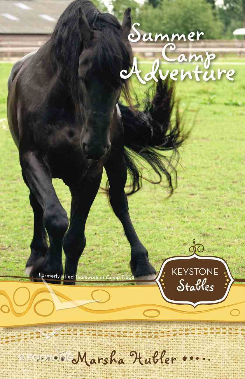 Summer Camp Adventure (Formerly Teamwork At Camp Tioga) (#04 in Keystone Stables Series) Paperback