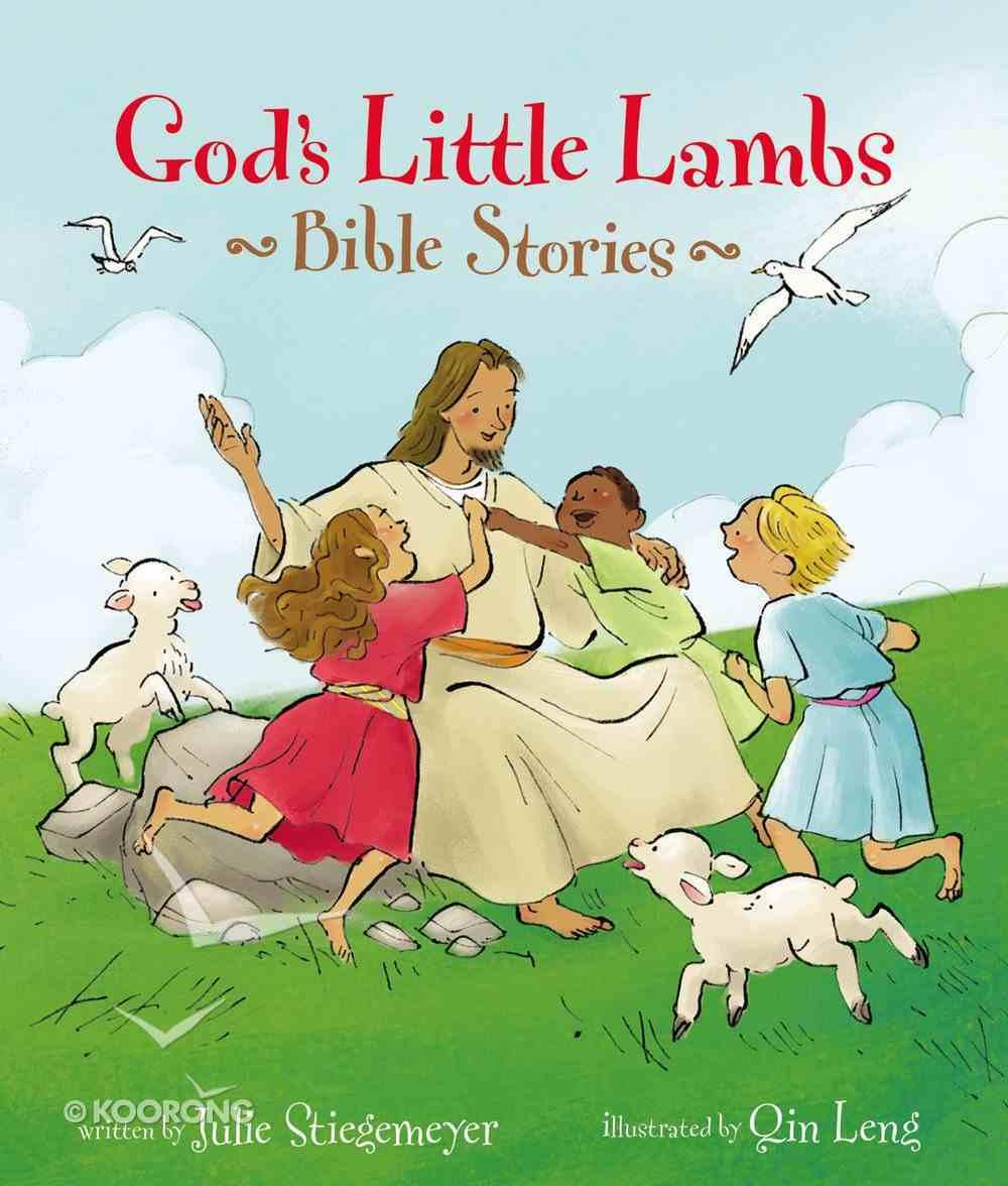 God's Little Lambs Bible Stories Hardback
