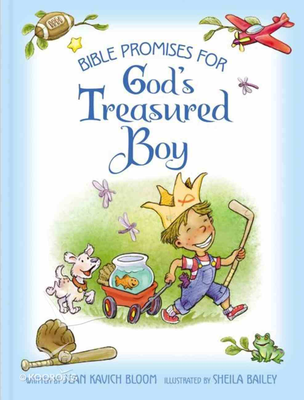 Bible Promises For God's Treasured Boy Hardback