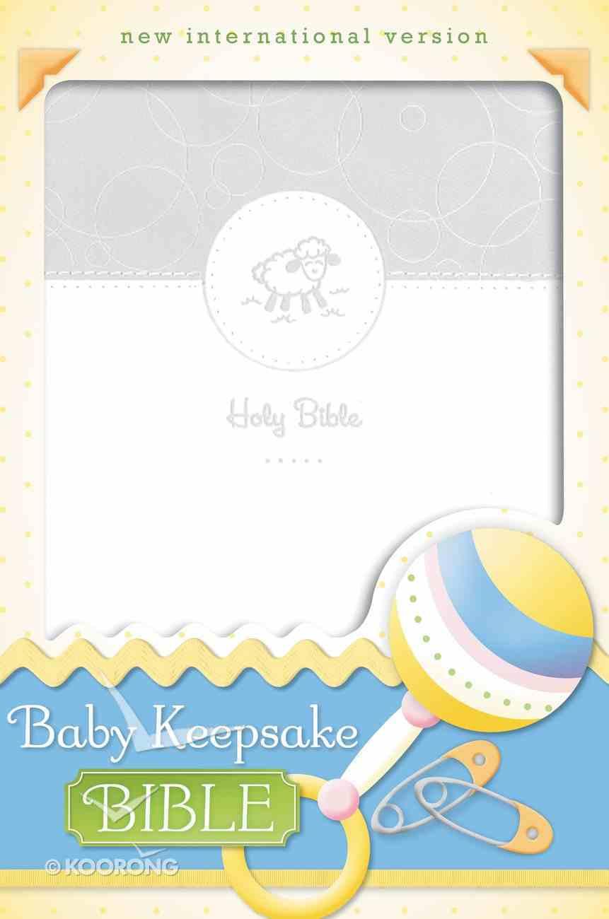 NIV Baby Keepsake Bible (Red Letter Edition) Premium Imitation Leather