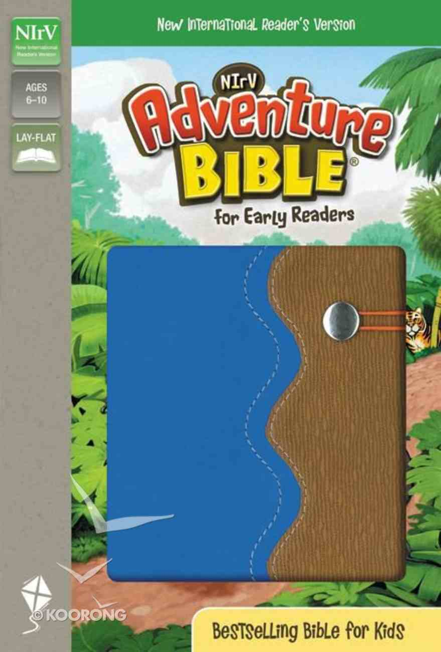 NIRV Adventure Bible For Early Readers Blue/Tan Duo-Tone Imitation Leather
