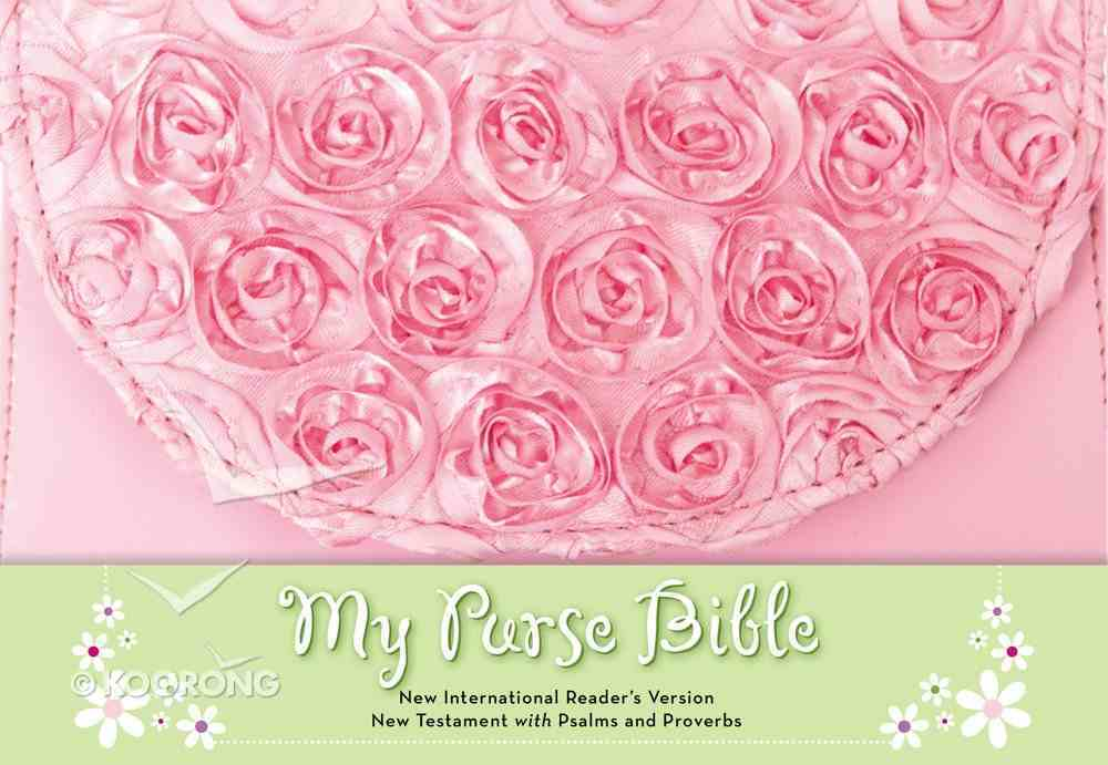 NIRV My Purse Pink New Testament With Psalms and Proverbs (Black Letter Edition) Hardback