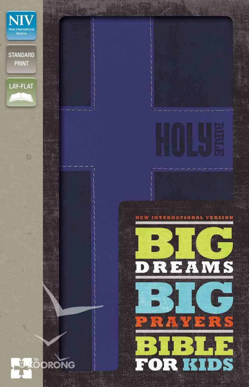 NIV Big Dreams Big Prayers Bible For Kids Purple (Black Letter Edition) Premium Imitation Leather