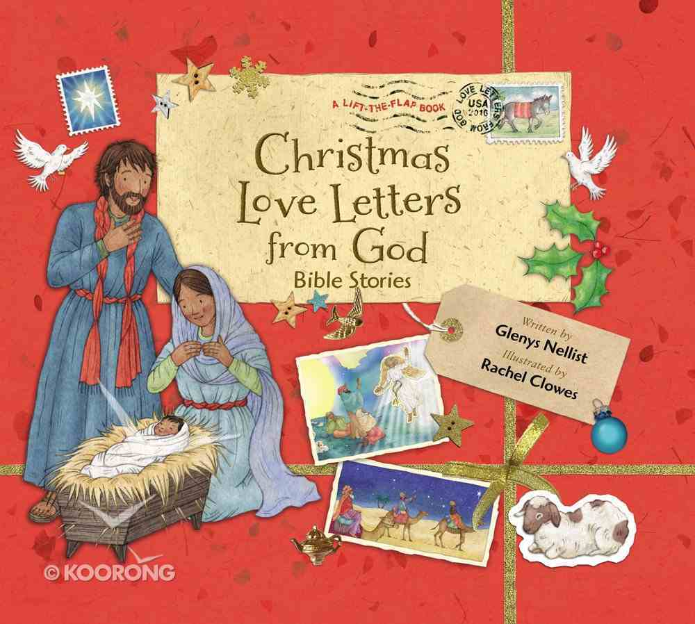 Christmas Love Letters From God: Bible Stories Hardback