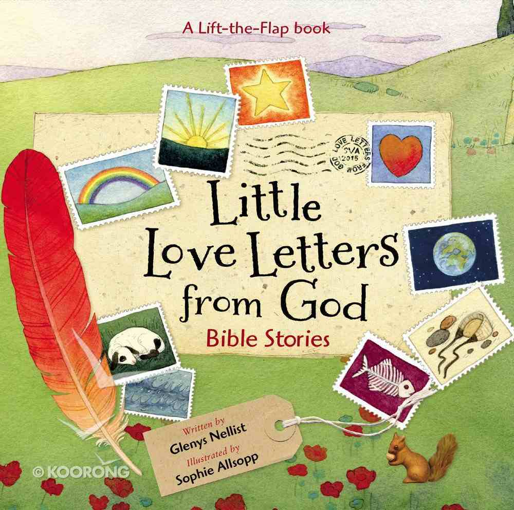 Little Love Letters From God Board Book