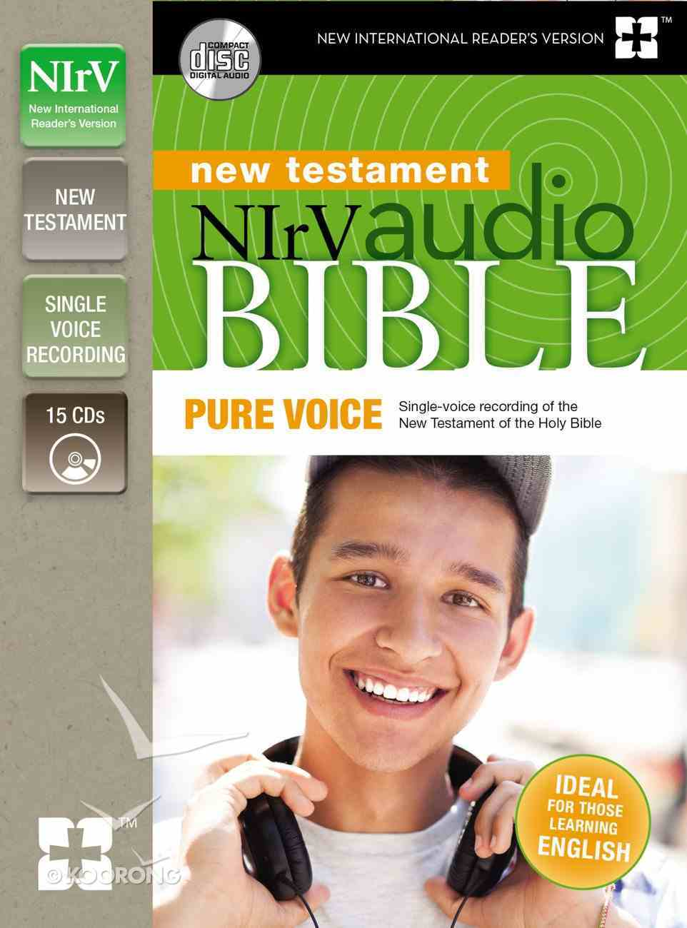 NIRV Audio Bible New Testament Pure Voice (Unabridged 18.55 Hrs) CD