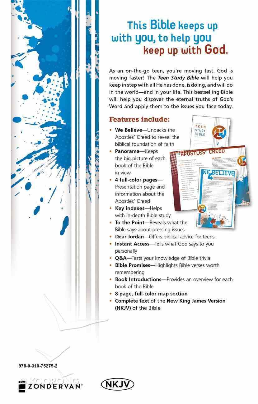 NKJV Teen Study Bible (Black Letter Edition) Hardback