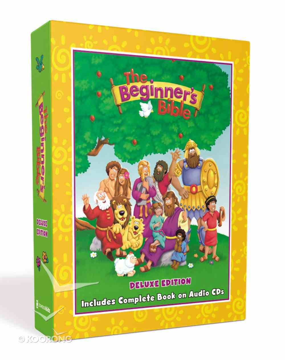 The Beginner's Bible Deluxe Edition (Includes Complete Book on Audio CDS) (Beginner's Bible Series) Pack