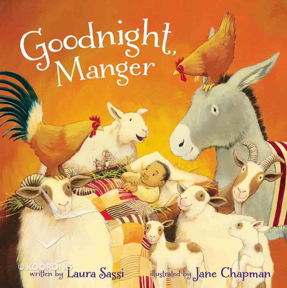 Goodnight, Manger Padded Board Book