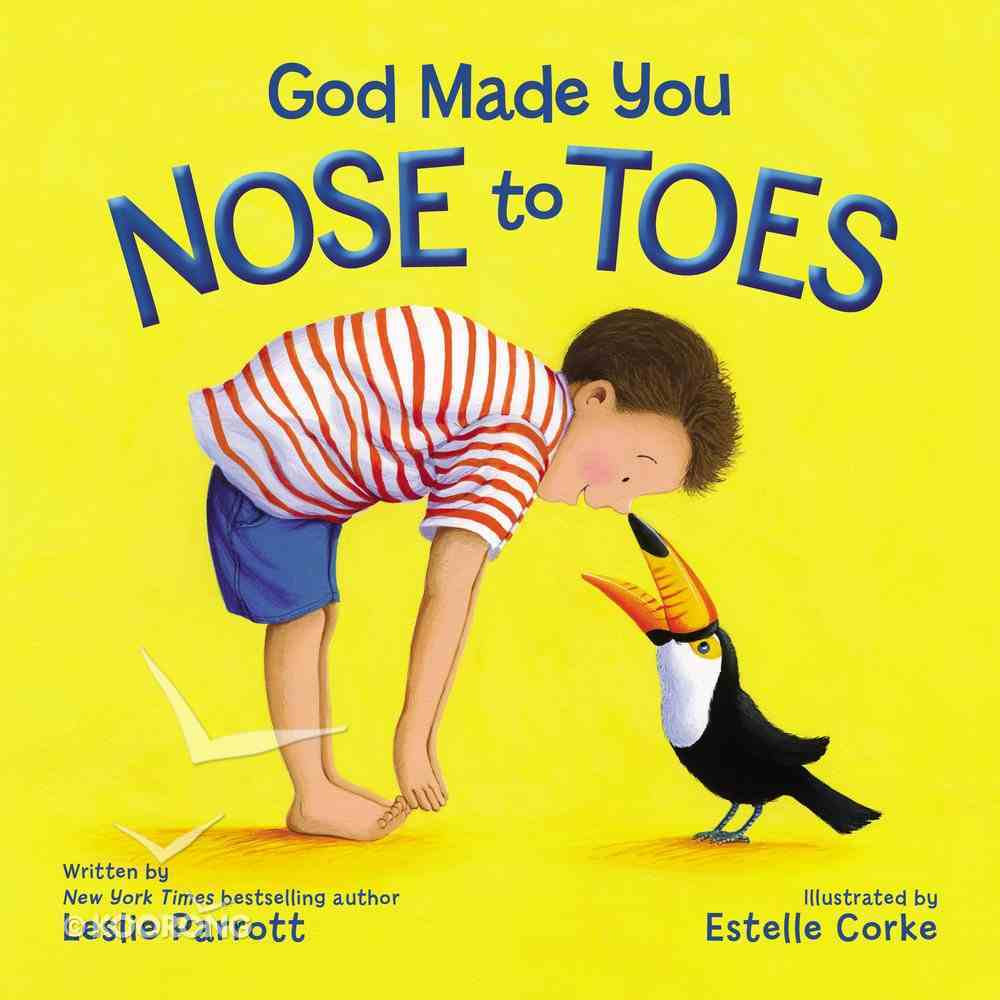 God Made You Nose to Toes Board Book