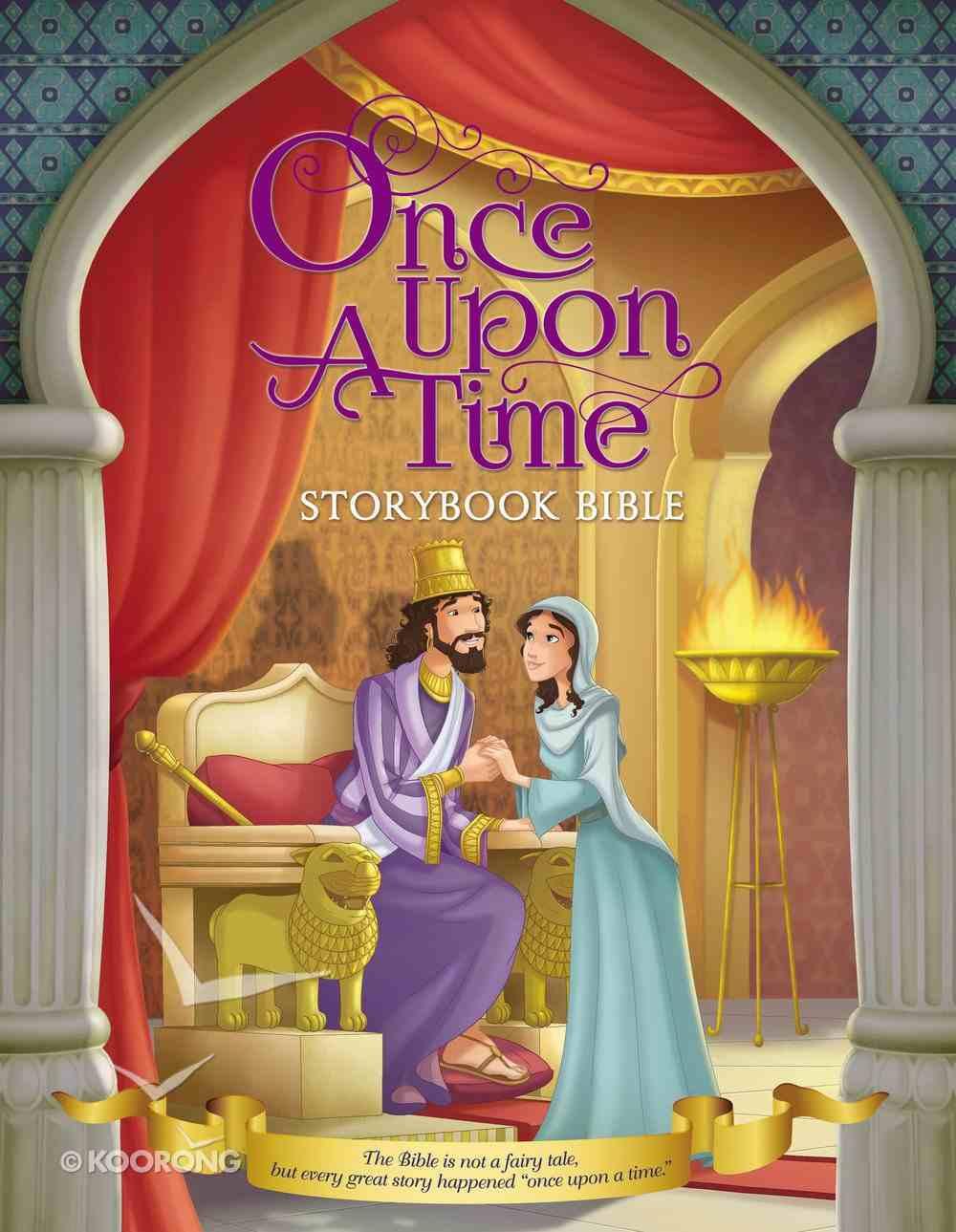 Once Upon a Time: Storybook Bible Hardback