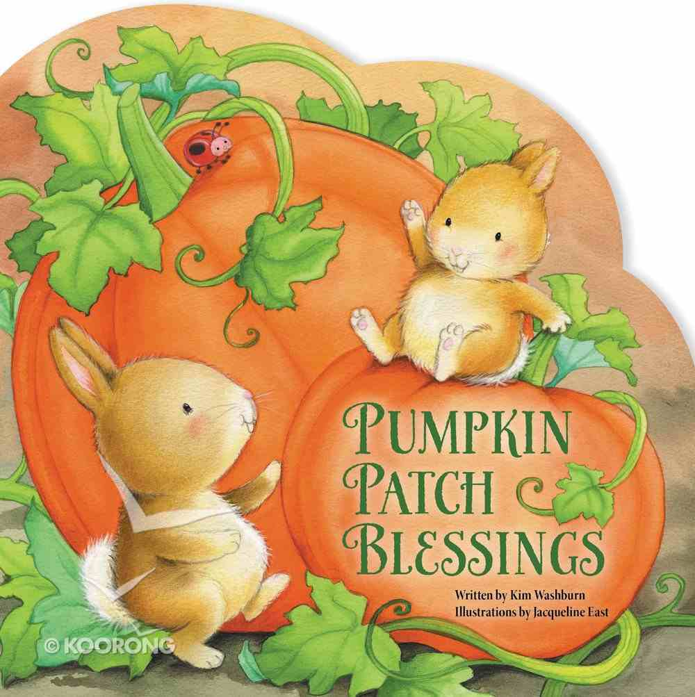 Pumpkin Patch Blessings Board Book