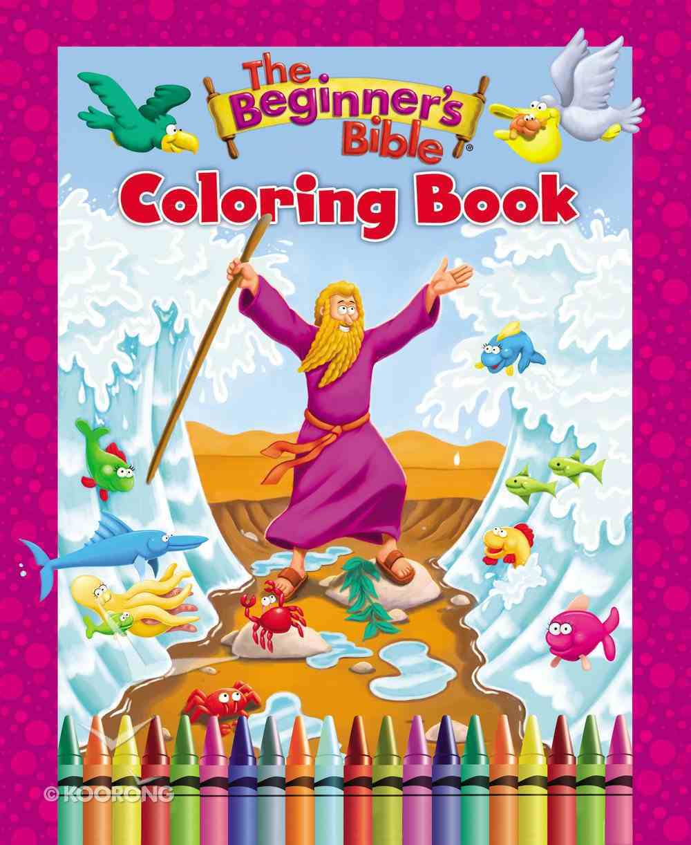 The Beginner's Bible Coloring Book Paperback