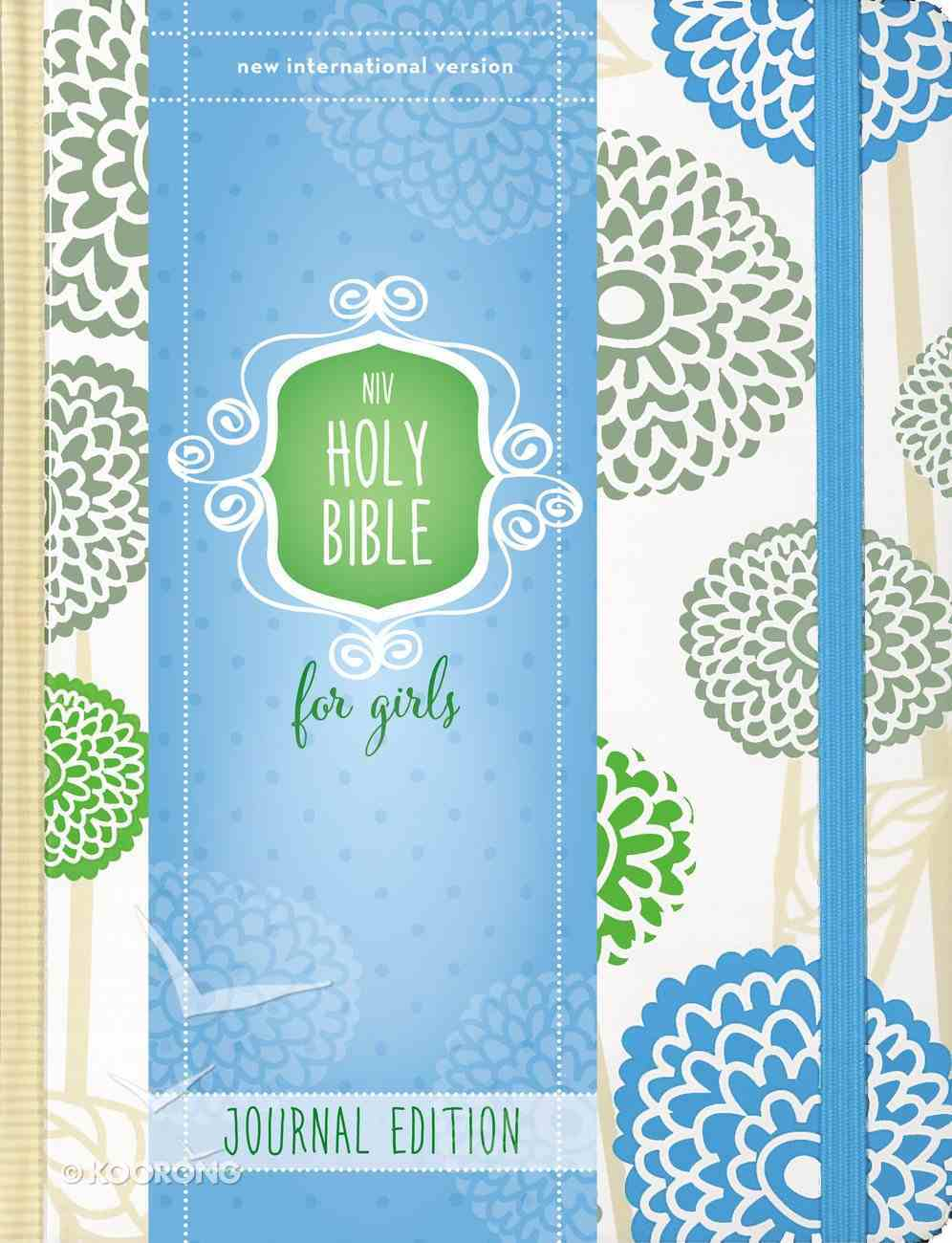 NIV Holy Bible For Girls Journal Edition Mint Elastic Closure (Black Letter Edition) Hardback