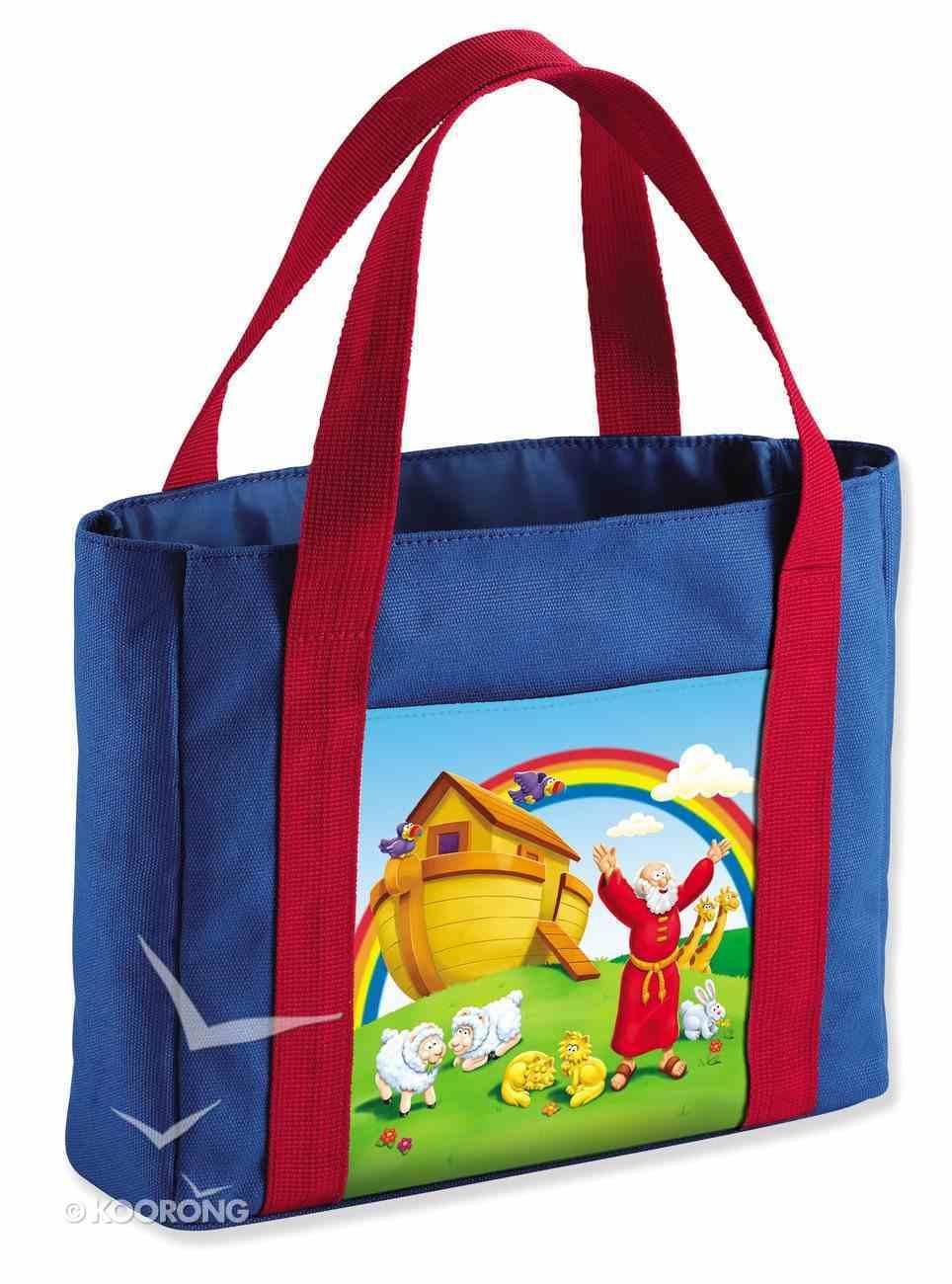 Canvas Bag: Beginner's Bible My First Church Bag, Noah's Ark, Medium (Beginner's Bible Series) Soft Goods