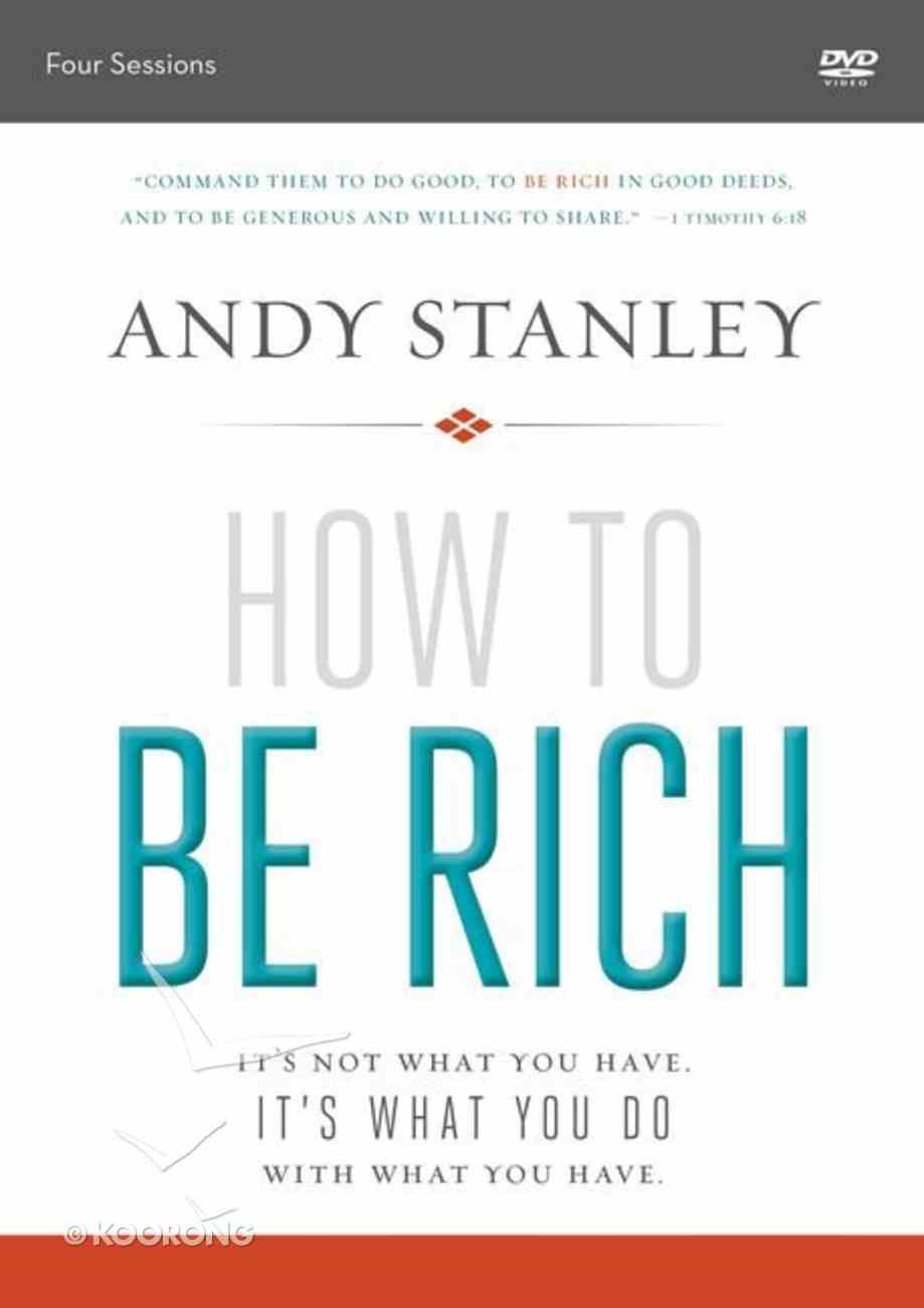 How to Be Rich (Dvd Study) DVD