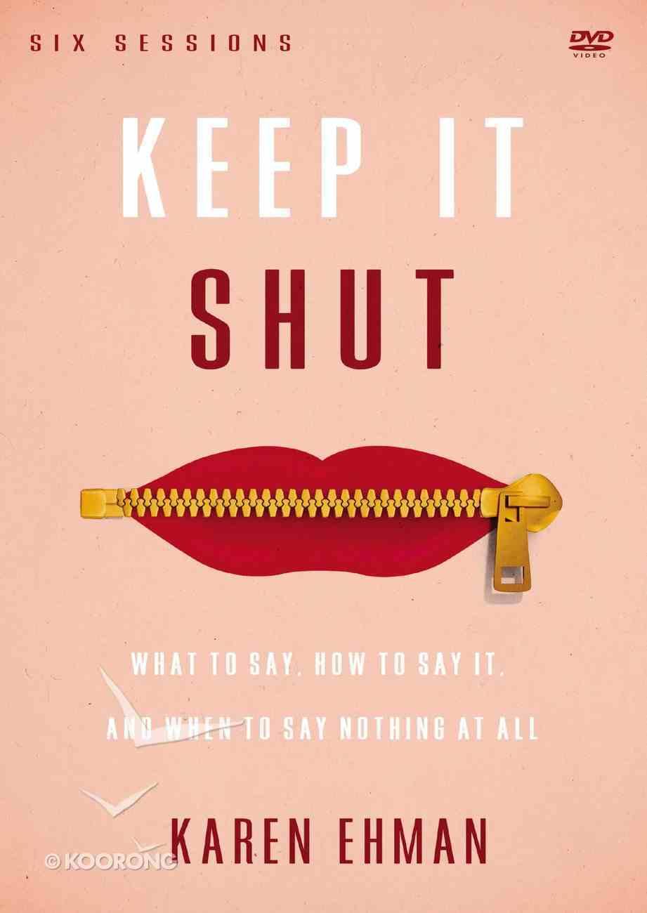 Keep It Shut (A Dvd Study) DVD