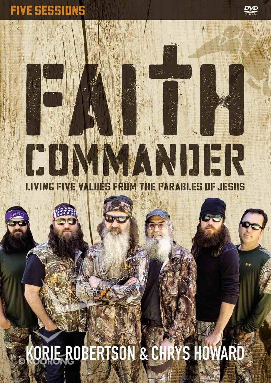 Faith Commander: A DVD Study (Duck Dynasty) DVD