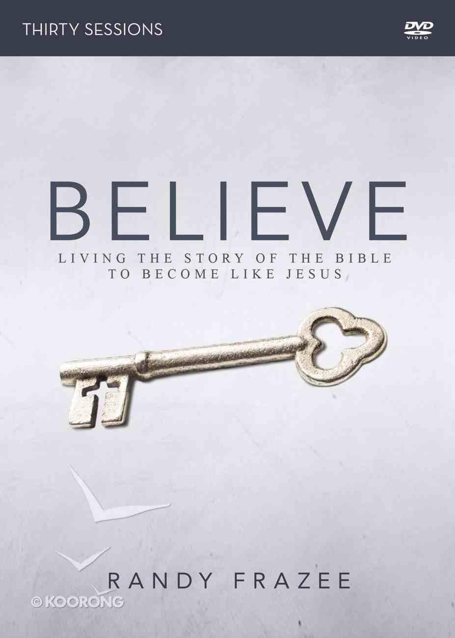 Believe (Adult DVD Study) (Believe (Zondervan) Series) DVD