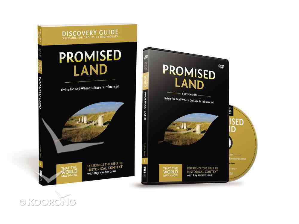 The Promised Land (Discovery Guide With DVD) (#01 in That The World May Know Series) Pack