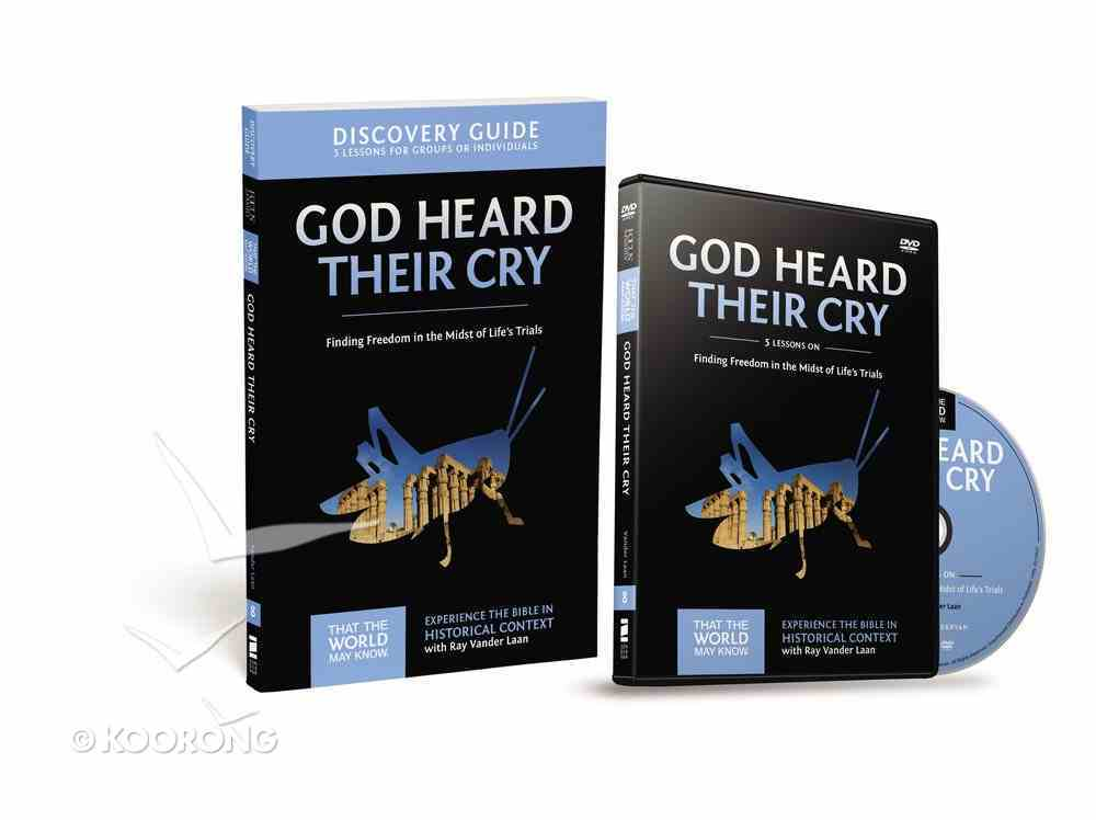 God Heard Their Cry (Discovery Guide With DVD) (#08 in That The World May Know Series) Pack