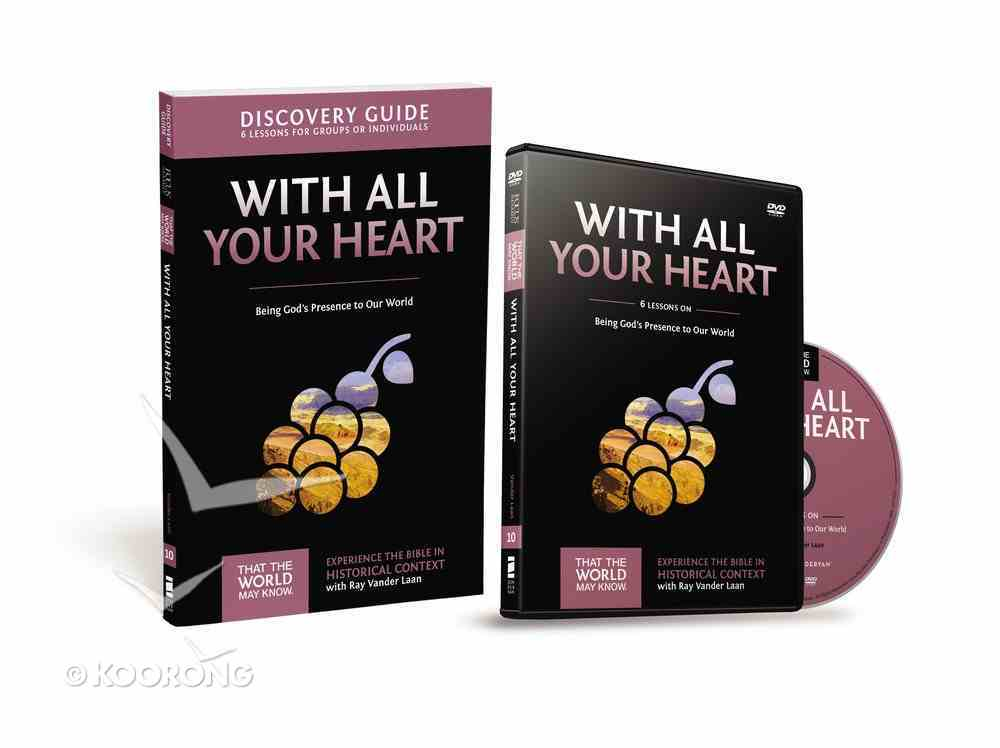 With All Your Heart (Discovery Guide With DVD) (#10 in That The World May Know Series) Pack