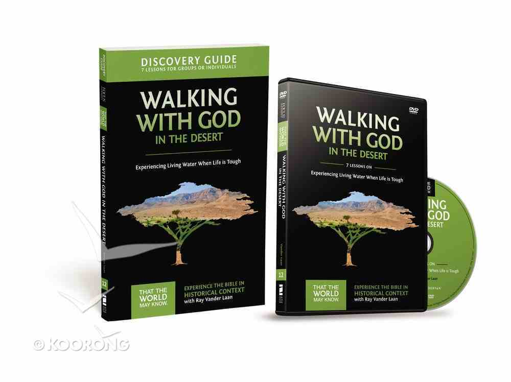 Walking With God in the Desert (Discovery Guide With DVD) (#12 in That The World May Know Series) Pack