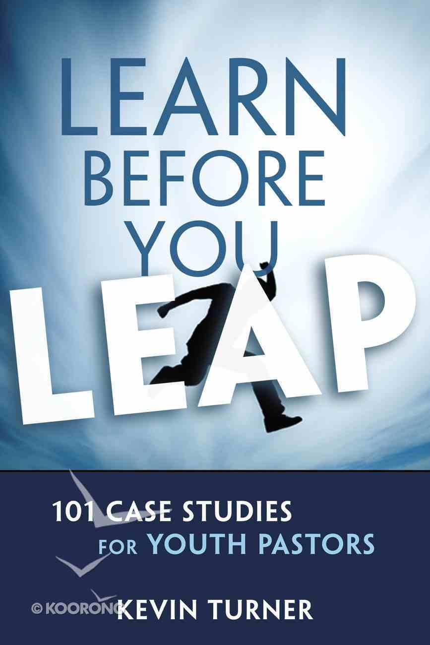 Learn Before You Leap Paperback