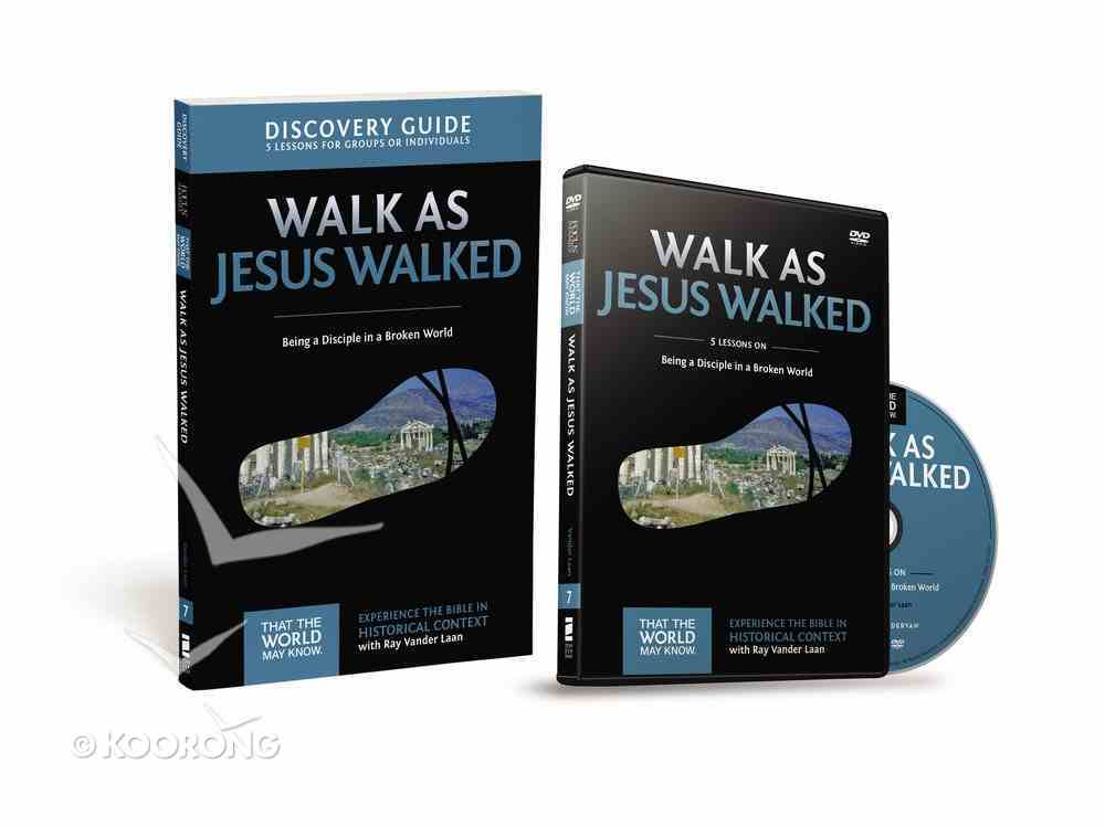 Walk as Jesus Walked (Discovery Guide With DVD) (#07 in That The World May Know Series) Pack