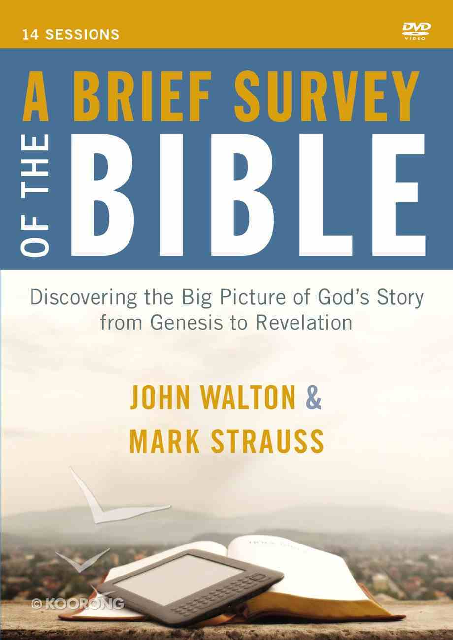 A Brief Survey of the Bible (A Dvd Study) DVD