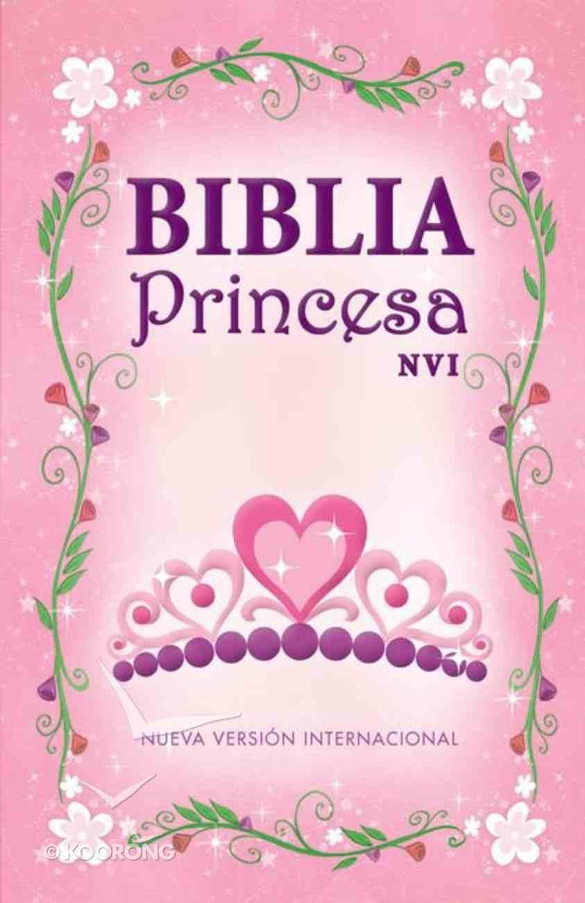Nvi Biblia Princesa (Princess Bible) Hardback