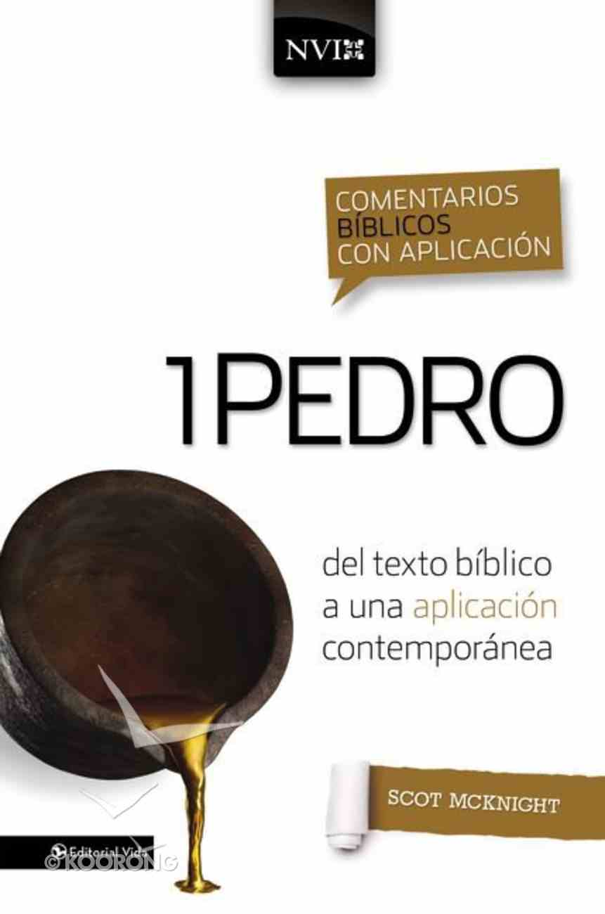 Nvi Comentario 1 Pedro (Nivac: 1 Peter) Hardback