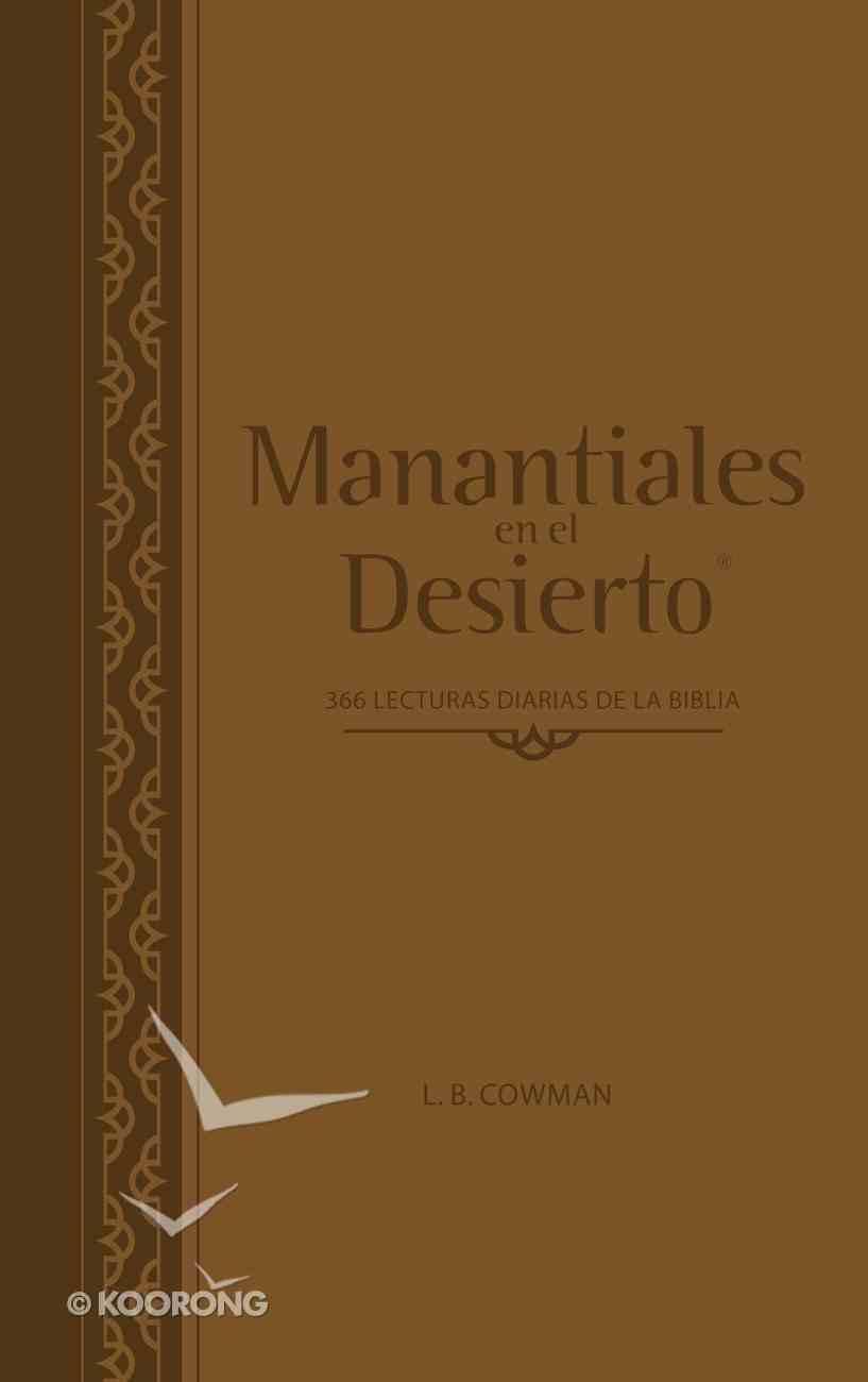 Manantiales En El Desierto - Edicin Actualizada (Streams In The Desert) Genuine Leather