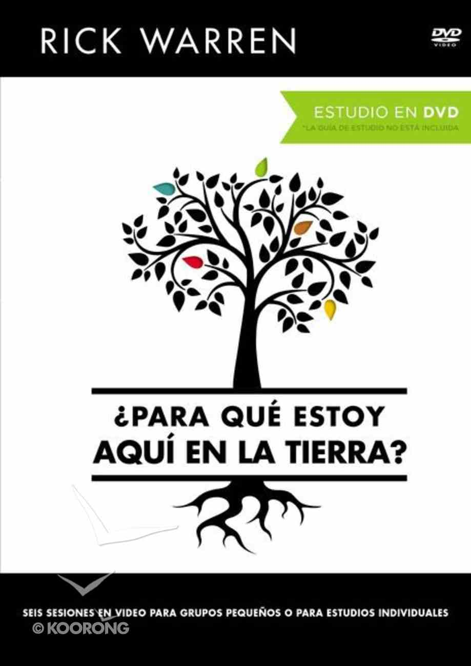 Curricula DVD (Purpose Driven Life: What on Earth Am I Here For DVD Study) (The Purpose Driven Life Series) Paperback