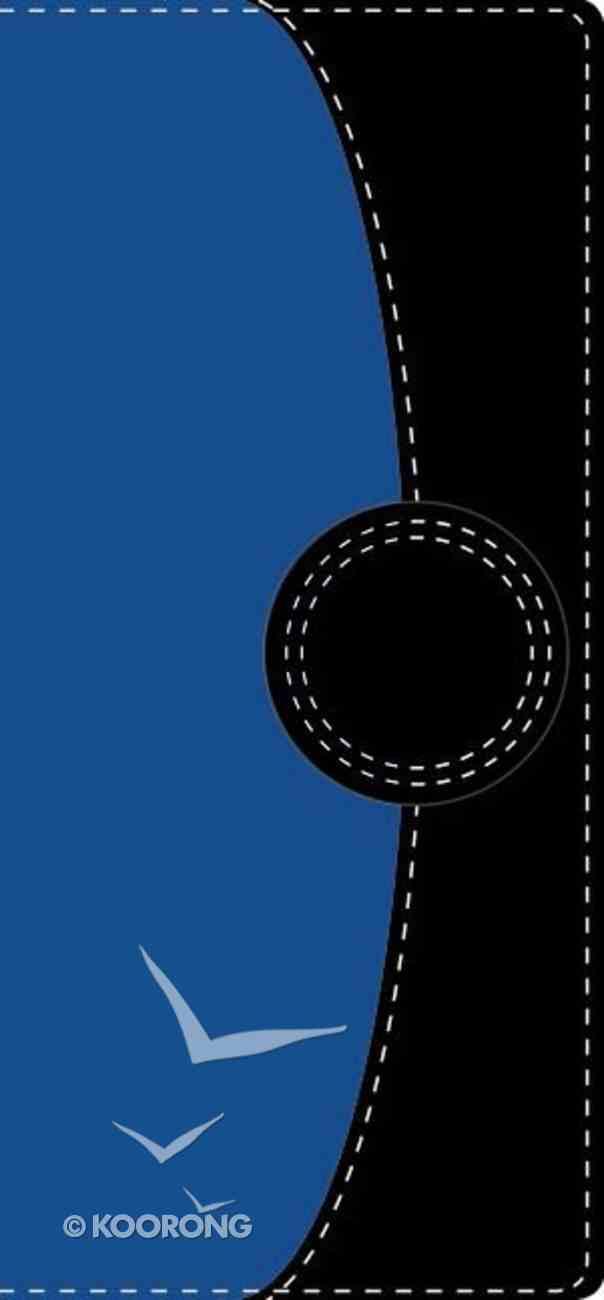 Nvi Santa Biblia Contorno Fino (Trimline Navy/blue) Imitation Leather