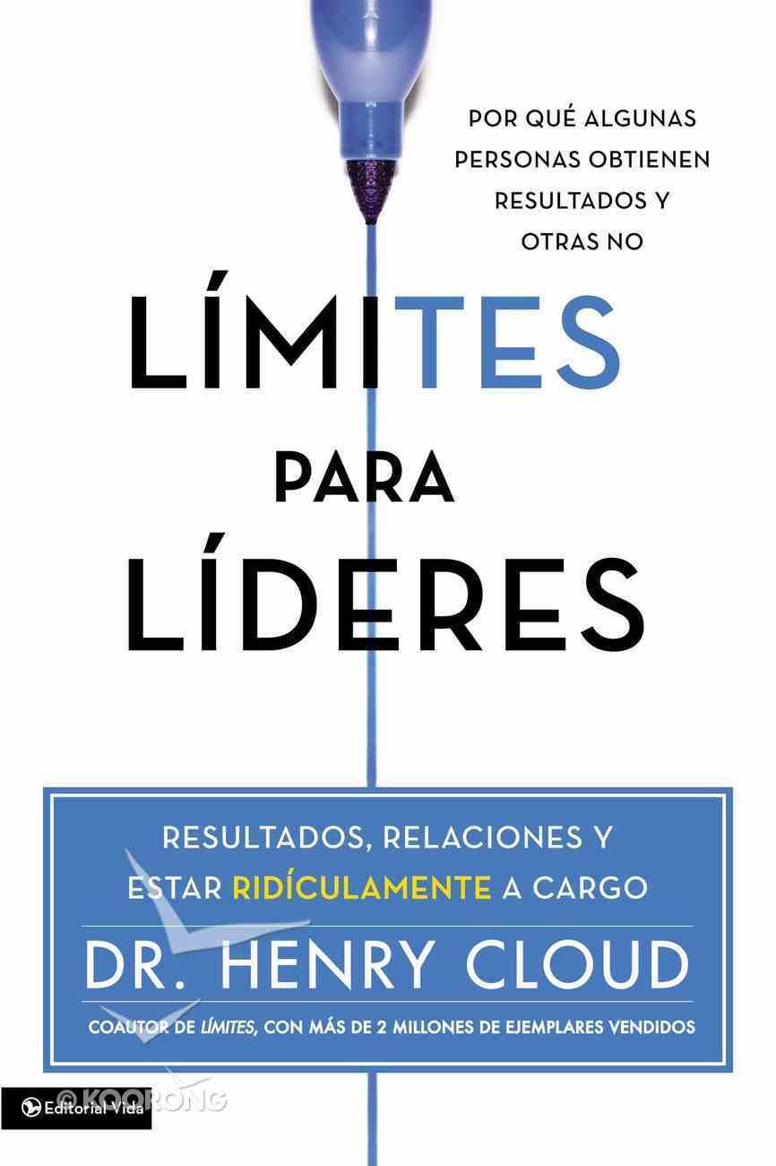 Limites Para Lideres / Boundaries For Leaders Paperback