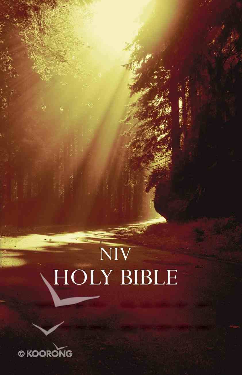 NIV Outreach Bible Forest Paperback