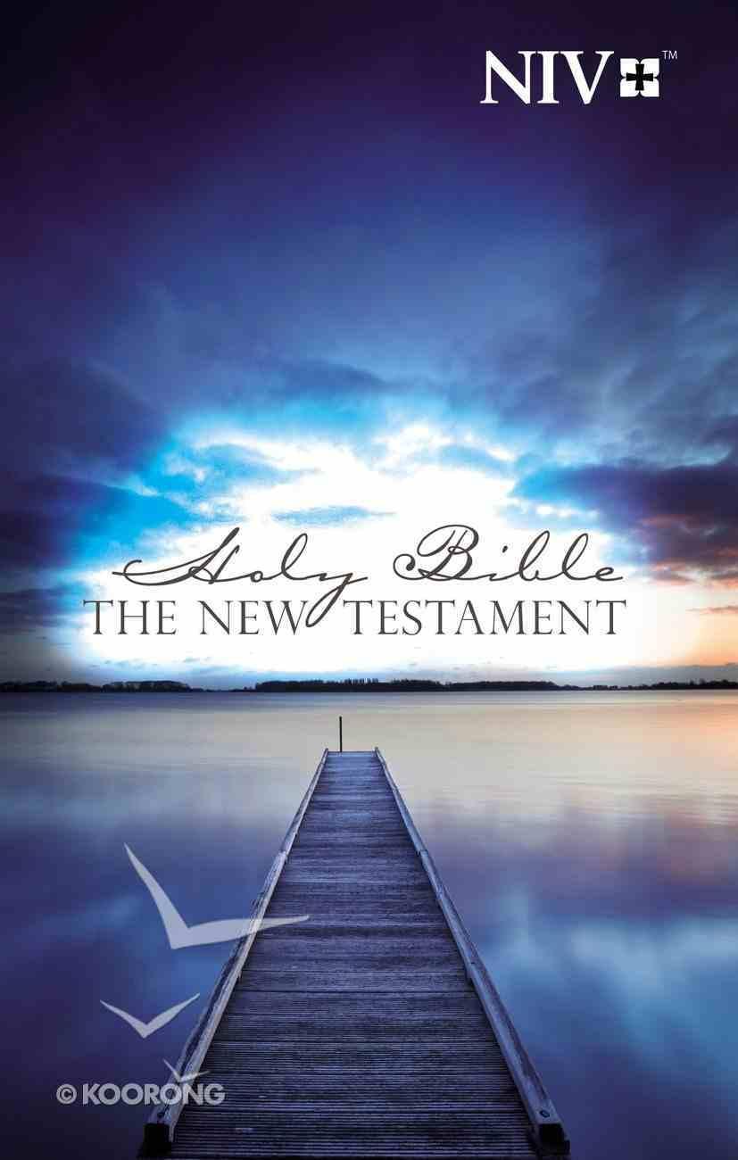 NIV Outreach New Testament Blue Pier Paperback