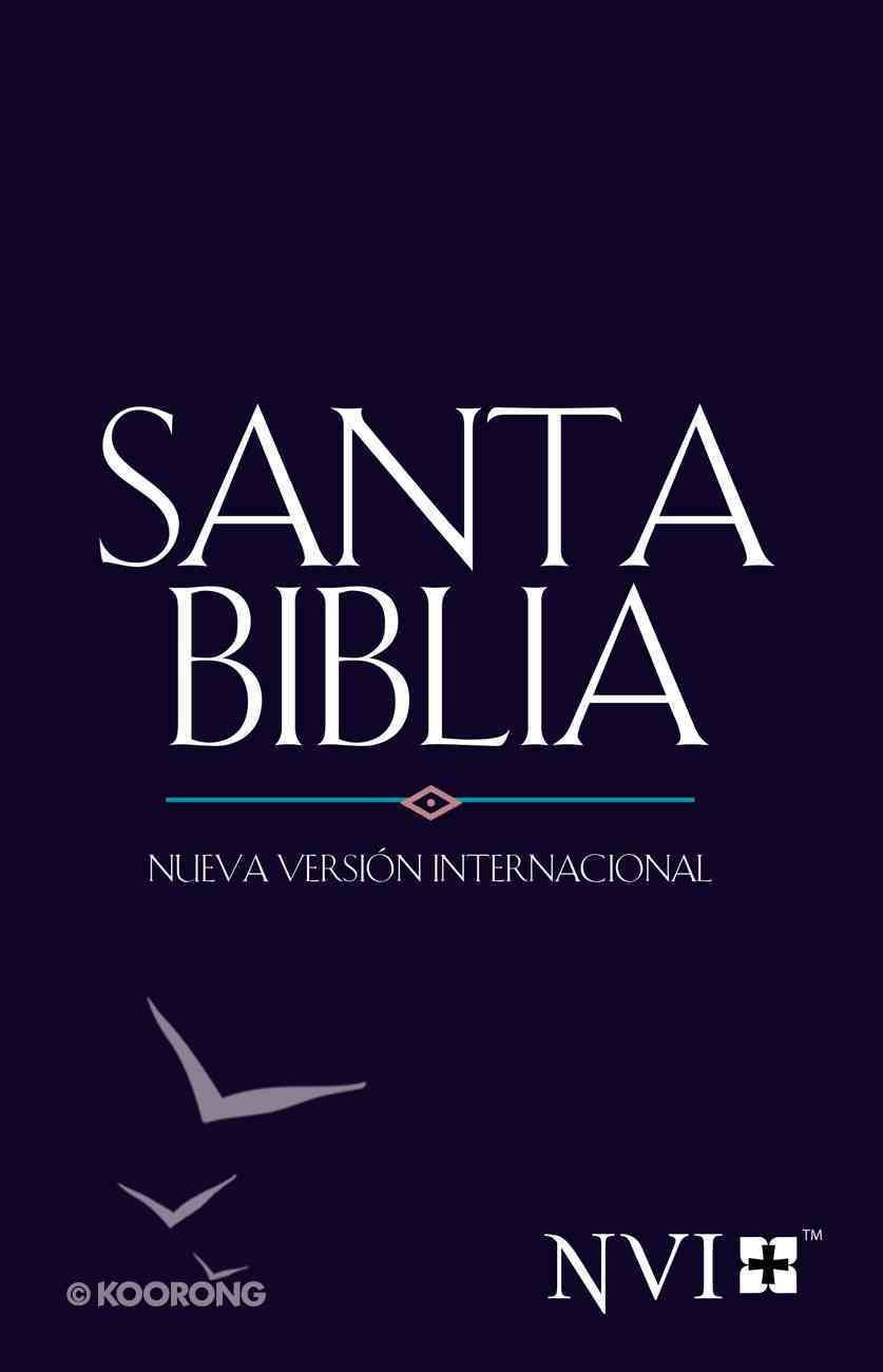 Nvi Santa Biblia/Nvi Outreach Bible Blue Jewel Paperback