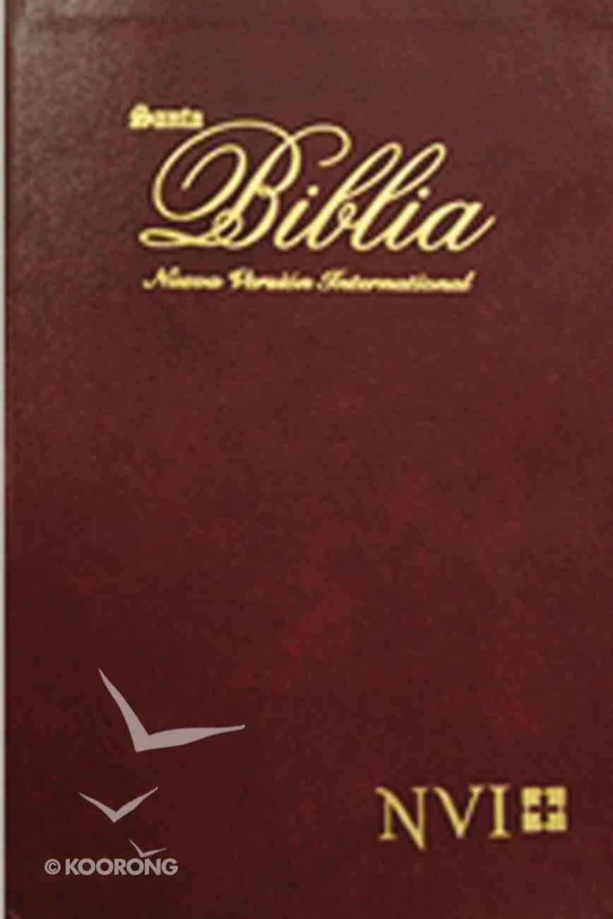 Nvi Biblia Semifina Para Regalo Wine (Thinline Gift Bible) Imitation Leather