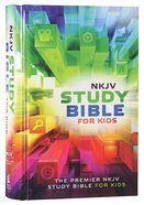 NKJV Study Bible For Kids (Black Letter Edition) Hardback