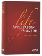 NIV Life Application Study Bible Personal Size (Black Letter Edition) Hardback