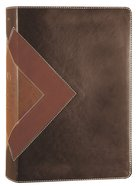 NLT Illustrated Study Bible Brown/Tan (Black Letter Edition) Imitation Leather